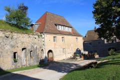 Fort Saint-André - English: Salins-les-Bains, Jura, France
