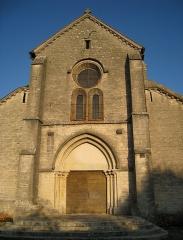 Eglise - façade avant de l'église d'Autrey-les-Gray.