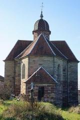 Eglise - Français:   L\'église d\'Équevilley.