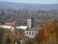 Eglise -  Eglise de Fougerolles (Haute-Saoône)