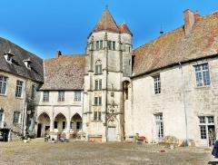 Château - Cour intérieure du château.