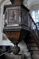 Eglise - Français:   Chaire de l\'église Saint-Pierre de Jussey (70).