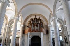 Eglise - Français:   Grandes orgues de l\'église Saint-Pierre de Jussey (70).