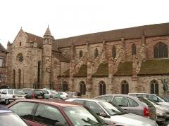 Ancienne abbaye Saint-Colomban -  Basilique Saint Pierre et Paul Luxeuil les Bains