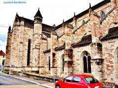 Ancienne abbaye Saint-Colomban - Église Saint-Martin de Luxeuil-les-Bains