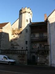 Hôtel Thiadot dit Maison du bailli, actuellement bibliothèque municipale et musée Beaumont - English: Hôtel Thiadot or