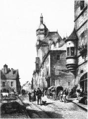 Hôtel de ville  dit tour des Echevins ou encore Maison carrée - Français:   Cf. titre