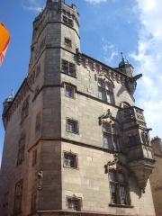 Hôtel de ville  dit tour des Echevins ou encore Maison carrée - English: Tour des Echevins, Monument of the 15th Century located in Luxeuil-les-Bains, France
