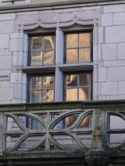 Maison dite du Cardinal Jouffroy - English: Balcony of the