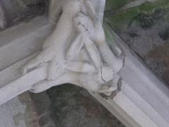 Maison dite du Cardinal Jouffroy - English: Keystone under the balcony of the