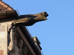 Maison dite du Cardinal Jouffroy - English: Detail of the South-East corner of the