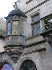 Maison dite du Cardinal Jouffroy - English: Bartizan of the