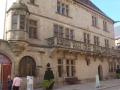 Maison dite du Cardinal Jouffroy - English: Maison du Cardinal Jouffroy, Monument located in Luxeuil-les-Bains, France