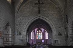 Eglise - Deutsch: Katholische Kirche Saint-Symphorien in Marnay im Département Haute-Saône (Bourgogne-Franche-Comté/Frankreich), Innenraum
