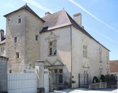Château Rouillaud - Français:   Bâtiment nord du château Rouillaud. Pesmes. Haute-Saône