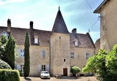 Château Rouillaud - Français:   Façade du château Rouillaud. Pesmes. Haute-Saône