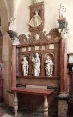 Eglise Saint-Hilaire -  Pesmes, Haute-Saone, Bourgogne-Franche Comté, France