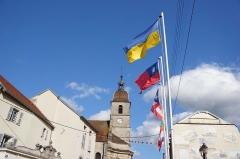 Eglise - Français:   L\'église Saint-Etienne de Port-sur-Saône
