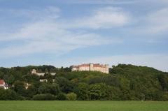 Château -  Château de Ray-sur-Saône, Haute-Saône, France POV from Saône valley