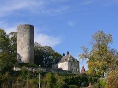 Château - English: Castle of Rupt-sur-Saône (Haute-Saône, France)