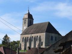 Eglise - English: Church of Rupt-sur-Saône (Haute-Saône, France)