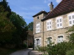 Maison du 15e siècle, dite Hôtel Thomassin - Français:   Façade sur cour de l\'hôtel Thomassin (Vesoul, Haute-Saône)
