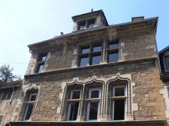 Maison du 15e siècle, dite Hôtel Thomassin - Français:   hôtel Thomassin (Vesoul, Haute-Saône)