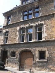 Maison du 15e siècle, dite Hôtel Thomassin - Français:   Façade sur rue de l\'hôtel Thomassin (Vesoul, Haute-Saône)