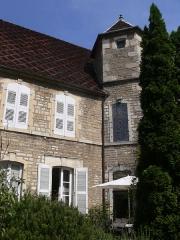 Maison du 15e siècle, dite Hôtel Thomassin - Français:   Hôtel Thomassin à Vesoul (Haute-Saône, France): depuis la cour