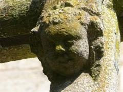 Croix monumentale - English: Cross of Rupt-sur-Saône (Haute-Saône, France)