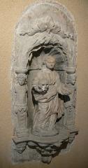Couvent des Ursulines - Français:   Sculpture située au premier étage du couvent des Ursulines de Vesoul, désormais musée Georges-Garret