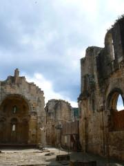 Restes de l'ancienne cathédrale Notre-Dame - English: Abbaye Alet