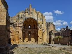 Restes de l'ancienne cathédrale Notre-Dame - English: Our Lady Abbey of Alet-les-Bains, Aude, France