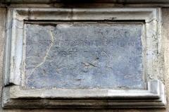 Ancien bassin de distribution des eaux - Français:   Ancien bassin de distribution des eaux; construction achevée en 1756. Le bassin a été abandonné au 19e siècle et l\'immeuble fut transformé en maison particulière.