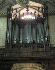 Cathédrale Saint-Michel et abords - English: Carcassonne - Cathédrale St-Michel - Organ (Cavaillé-Coll 1860; Costa 1963; Manufacture languedocienne de grandes orgues 1998)