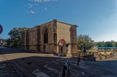 Chapelle Notre-Dame-de-Santé - English: Carcassonne - Rue du Pont Vieux - View SE on Chapelle Notre-Dame de la Santé