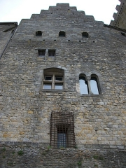 Cité de Carcassonne - This building is indexed in the Base Mérimée, a database of architectural heritage maintained by the French Ministry of Culture,under the reference PA00102588 .