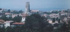 Eglise Saint-Vincent - Deutsch: Blick über Carcassonne und die Saint Vincent Kirche Fotografiert: selbst