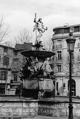 Fontaine monumentale - Français:   Fontaine, Place Carnot à Carcassonne