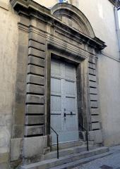 Lycée de garçons - Français:   Chapelle bâtie par les Jésuites au 2e quart 17e siècle.