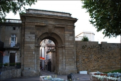 Portail des Jacobins - Español: Puerta de los Jacobinos en Carcasona (Francia)