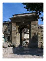 Portail des Jacobins -  Carcassonne - Lower City with 17th century Gate
