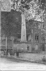 Grande fontaine - Français:   France, Aude (11), Caunes-Minervois, grande fontaine