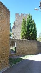Ensemble de la tour du Bas - Français:   La tour Boisée, Laure-Minervois