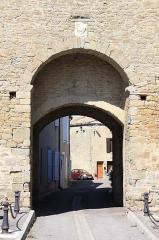 Tour du Portail-Neuf - Français:   Porte de la Tour du Portail Neuf