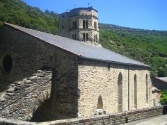 Eglise Saint-Etienne - Español: Iglesia de Saint-Etienne, en Mas-Cabardès (Aude, Francia)