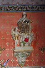Eglise Saint-Vincent -  Chapel of St. John the Baptist: Saint Roch rescued by an angel.
