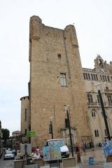 Ancien archevêché et ses abords - Català: Palau dels Arquebisbes - torre de Gil Aicelin