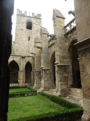 Eglise Saint-Just (ancienne cathédrale) - Cloître de la Cathédrale Saint-Just-et-Saint-Pasteur