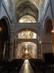 Eglise Saint-Paul - Basilique Saint-Paul de Narbonne (11). Nef principale.